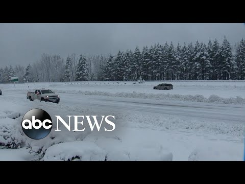 Storm brings heavy snow to the West l ABC News