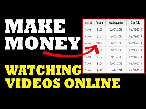 3 Ways on How To Make Money Watching Videos Online
