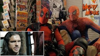 NIGHTWING vs WINTER SOLDIER - REACTION SPANDEX - WITH SPIDER-MAN AND DEADPOOL