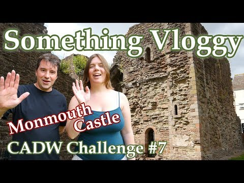 Monmouth Castle - Birthplace of Henry V - CADW Challenge #7