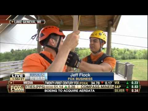 Geneva Canopy Tours   Fox Business News 5 27 2014   Risk and Reward  Jeff Flock
