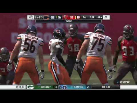 Madden 17 Chicago Bears Connected Franchise