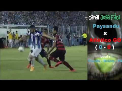 Paysandu 0 x 0 Atlético-GO - Melhores Momentos - Brasileirão Série B 24/06/2016 ( 12 RODADA )
