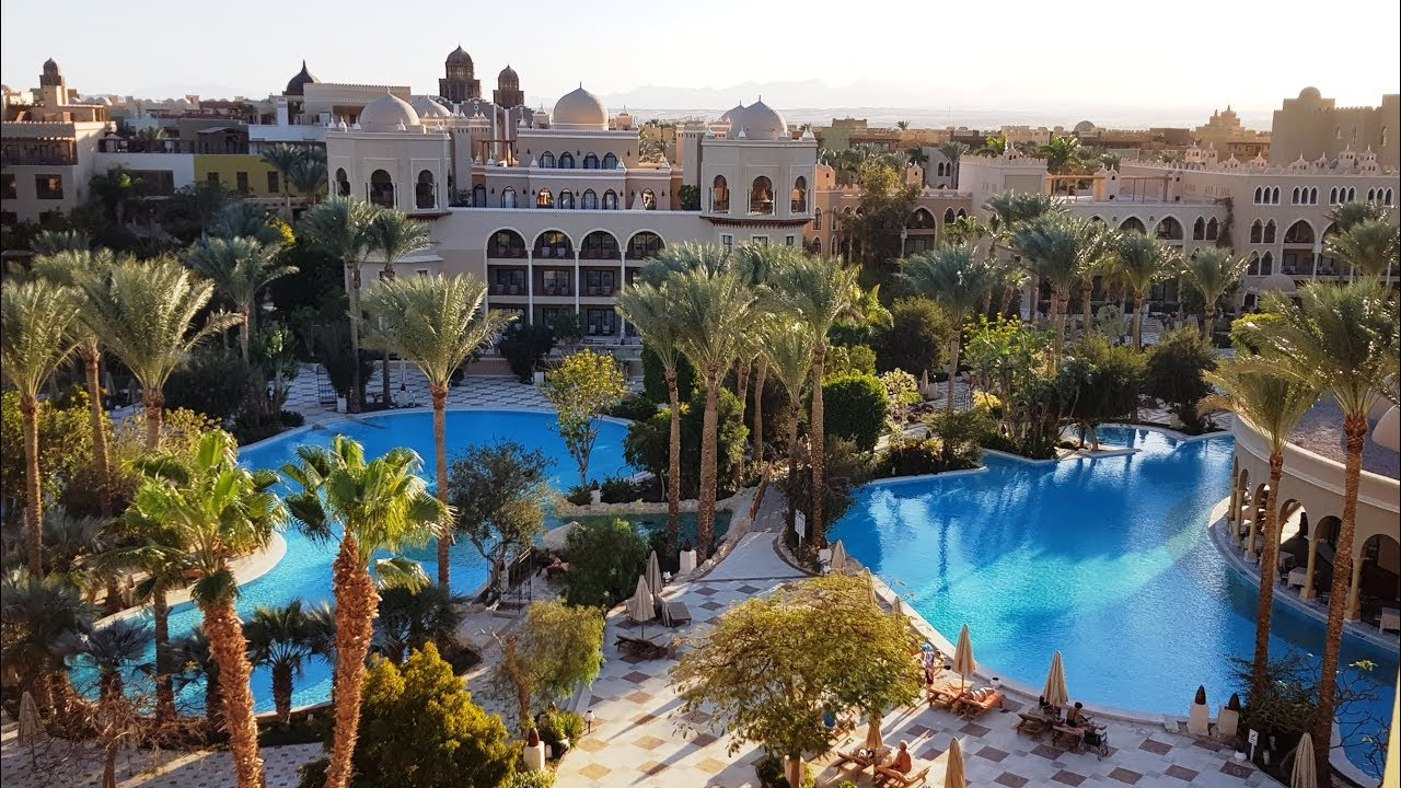 Agypten Makadi Palace Hotel Rundgang Makadi Bay 5 Sterne Red Sea
