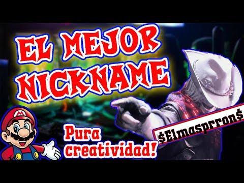 El  NICKNAME Para Juegos Mas CREATIVO    CREAR Nick