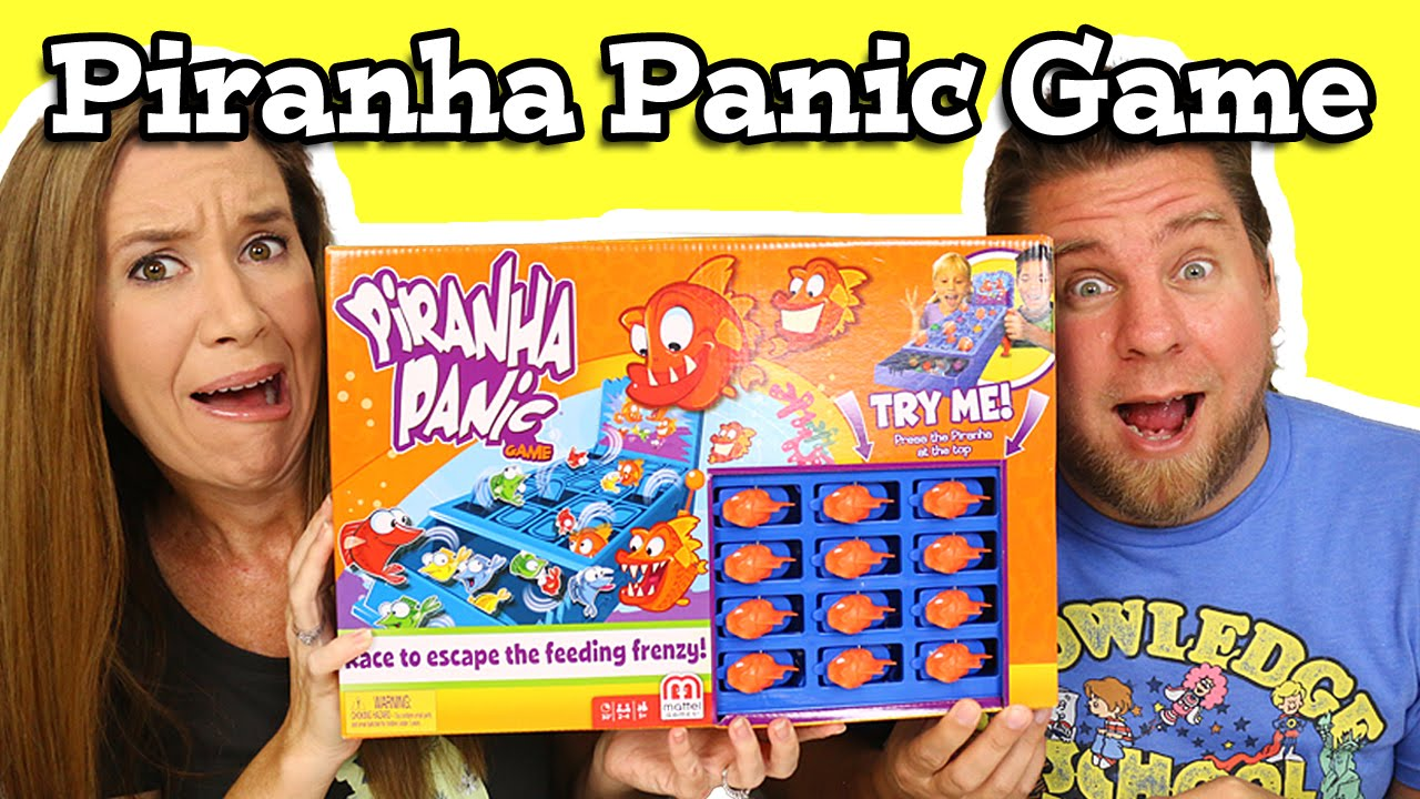 Piranha Panic Game Play And Review