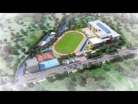 Edify School Amravati 3d Animation Walkthrough