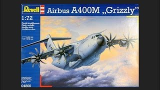 "Video Revell 1/72 Airbus A400M ""Grizzly"" Scale Model Review download MP3, 3GP, MP4, WEBM, AVI, FLV Juni 2018"