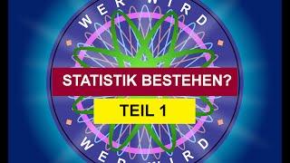 Kontrollfragen zu Statistik - Alle Themen (Wer wird Statistik bestehen?)