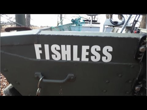 Walk Around Of My Poor Boy Fishing Boat Project Rod Rack 60 Hp Mercury
