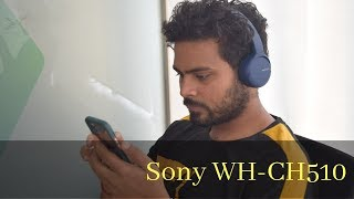 Sony WH-CH510 Review: Impressive sound and extraordinary battery backup