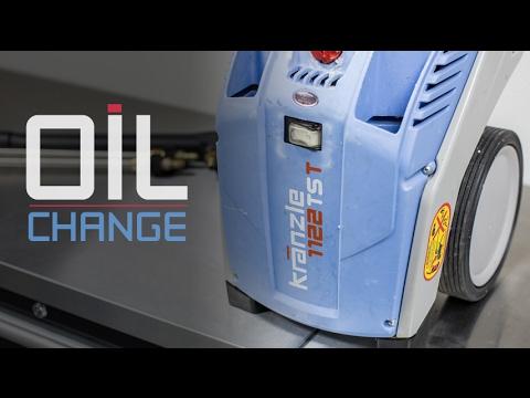Kranzle K1122TST Pressure Washer Oil Change