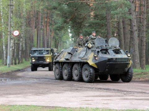 Видео, Колонна тяжелой артиллерии ВСУ идет на Донецк Новости АТО сегодня, Донецк, Луганск, ДНР Украина