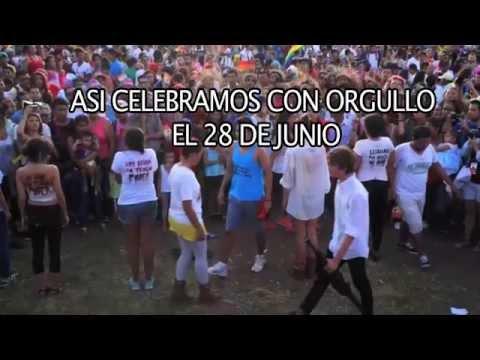 COLAGE DE IMAGENES MARCHA DEL ORGULLO LGBTI 28 DE JUNIO 2015
