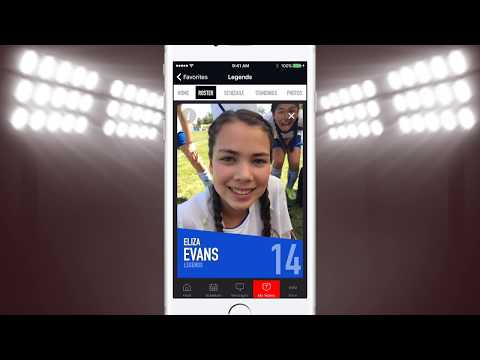 SportsSignUp Play Mobile App walkthrough