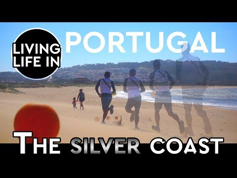 Living In Portugal, Sao Martinho Do Porto Beach
