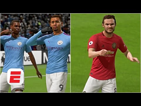 Man City Vs. Man United: Manchester Derby Predictions | FIFA 20