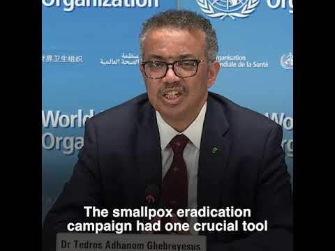 Dr Tedros on the milestone of smallpox eradication and lessons learned for COVID-19 response