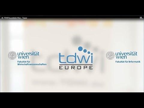 18.  TDWI Roundtable Wien