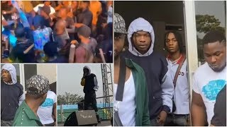 Naira Marley Shuts Down Calabar Festival With Crazy Performance  Marlian Fest  Tesumole