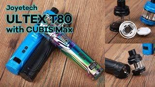 The most Innovative Tank!!! Joyetech ULTEX T80 with CUBIS Max Kit
