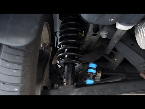 Dodge Caliber Rear Strut Shock Replacement