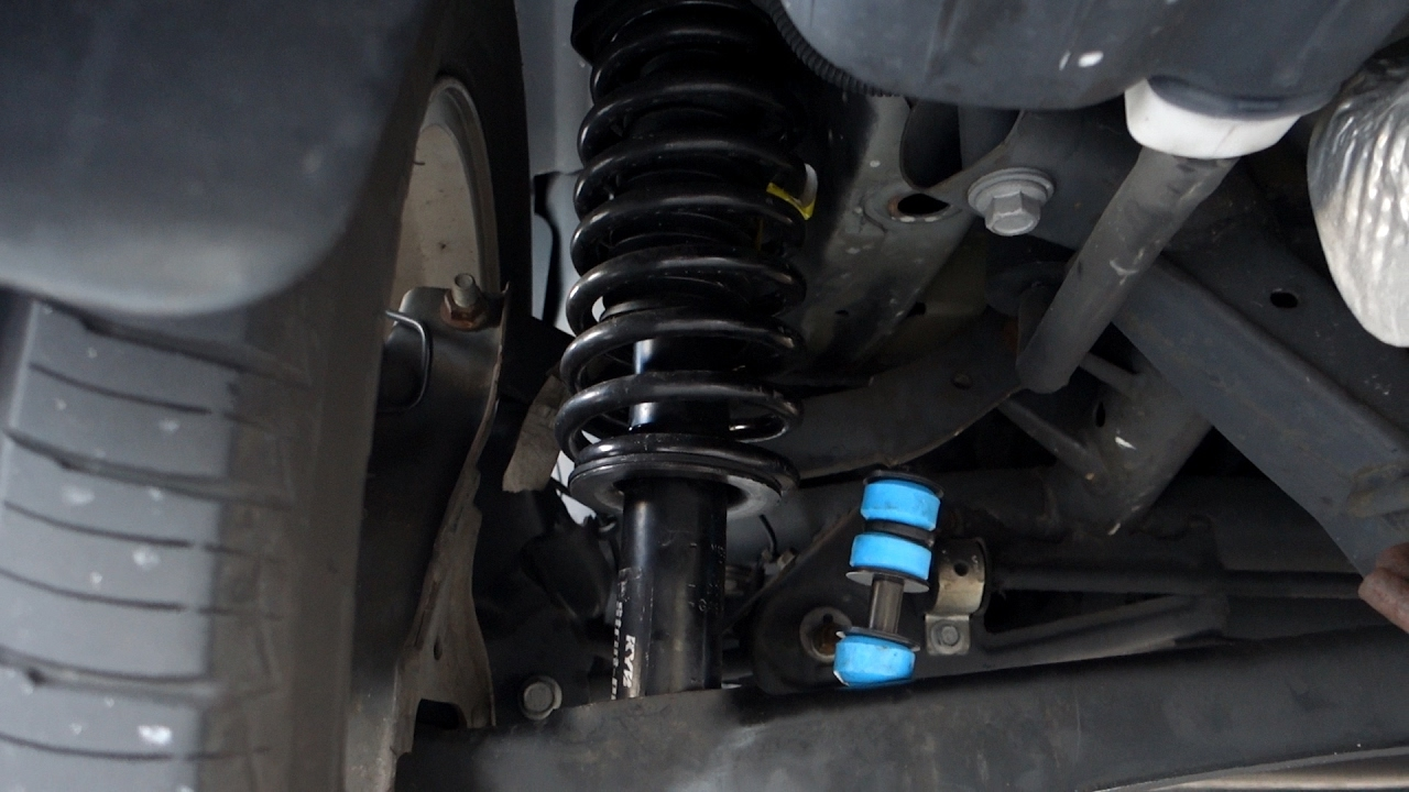 Dodge Caliber Rear Strut Shock Replacement  YouTube