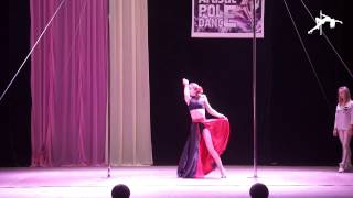 Коваленко Мария 1место Юниоры Новички(Artistic Pole Dance 2017) 08.04.2017 г.Кривой Рог