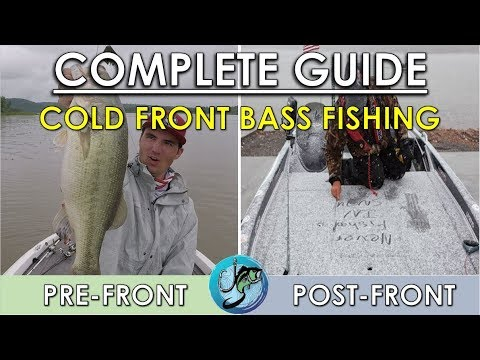 Cold Front Bass Fishing Tips, Tricks, And Techniques!