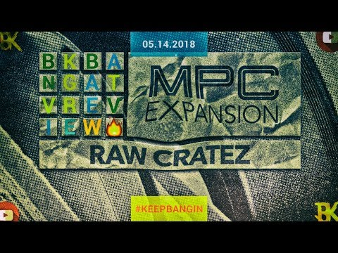MPC EXPANSION PACKS RAW CRATEZ MPC LIVE 2 2 REVIEW