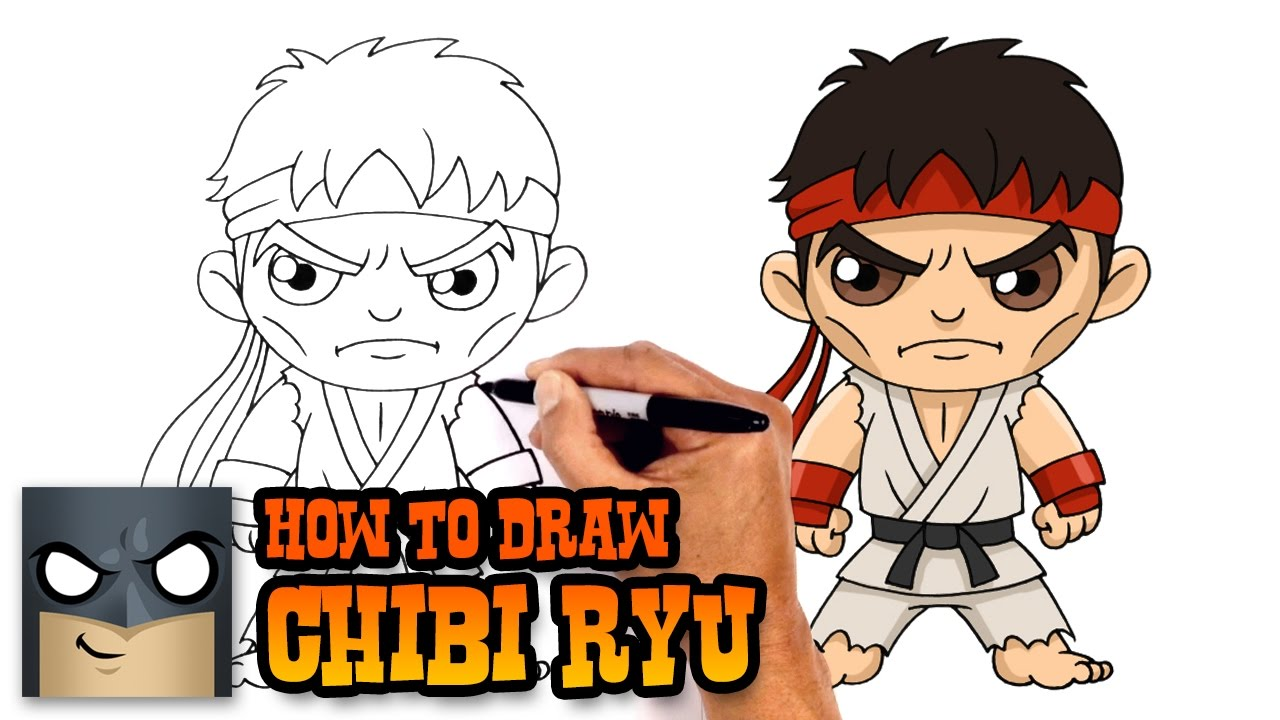 How To Draw Ryu Street Fighter Youtube