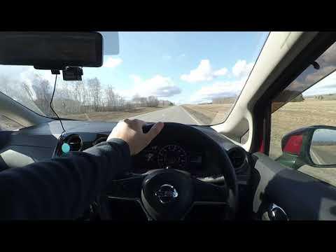 Расход Nissan Note e-Power (трасса)