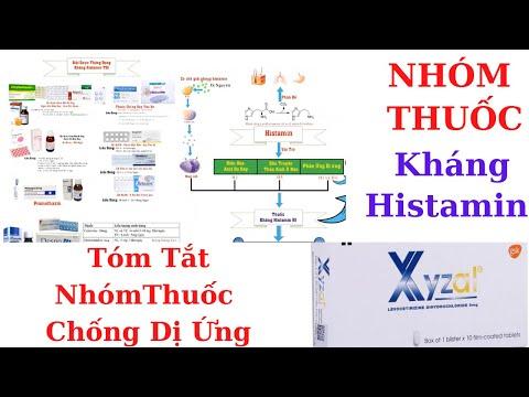Nhóm thuốc kháng histamin H1 - Kháng dị ứng   Dược Lý histamin video1   Y Dược TV