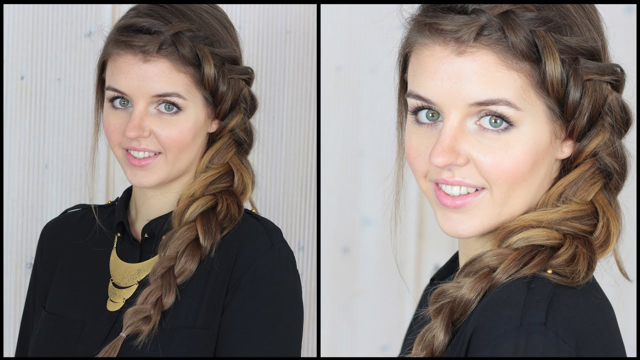 dutch braid frisuren freitag youtube