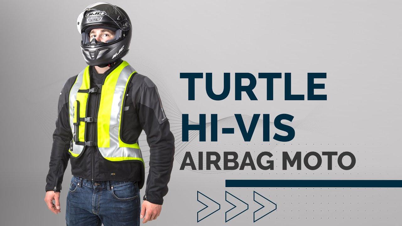 Helite Turtle Airbag Vest Hi-Viz