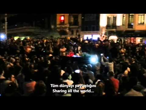 Davide Martello - Imagine (07.06 Taksim Square) #geziparkı