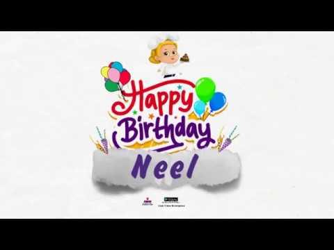 Happy Birthday Neel