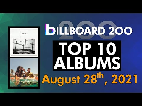 Billboard 200 Albums Top 10 (August 28th, 2021)