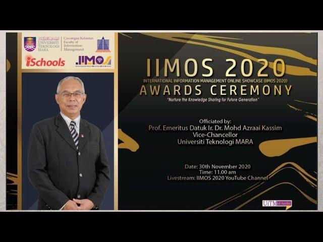IIMOS2020 Awards Ceremony