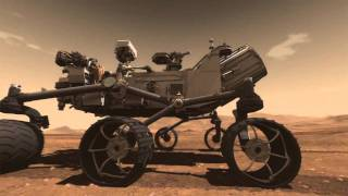 Amazing Movie of Mars Curiosity  HD