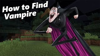 How to Find a VAMPIRE | Minecraft PE