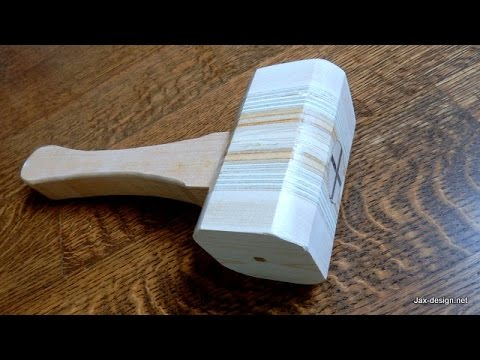 Make a Wooden Mallet -  Dead blow