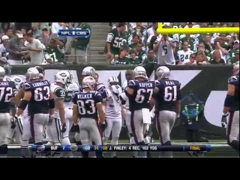 2009 Patriots vs Jets 1st Half