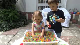 Шарики растущие ORBEEZ сюрпризы игрушки с шариками Орбиз Challenge surprise toys unboxing