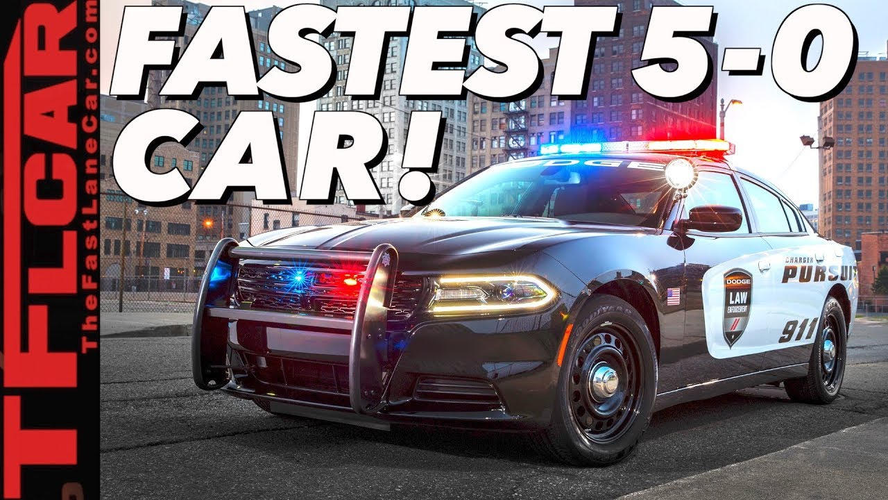 Ford Dodge Or Chevy What S The Fastest And Quickest Police Car