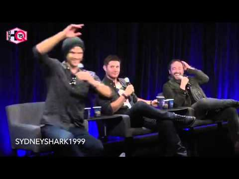 Mark Sheppard's laughter 😂😂