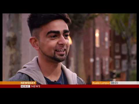 Four young Asian poets on life in the UK - BBC World TV