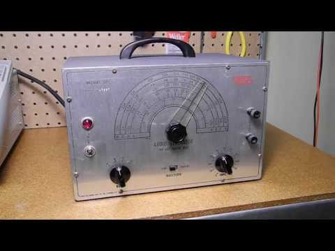 The EICO Model 377 Sine and Square Wave Audio Generator