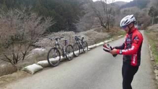 入遠野泥んこ林道サイクリング