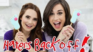 MIRANDA SINGS FROZE TOES COOKIE POPS ft Colleen! by : Rosanna Pansino